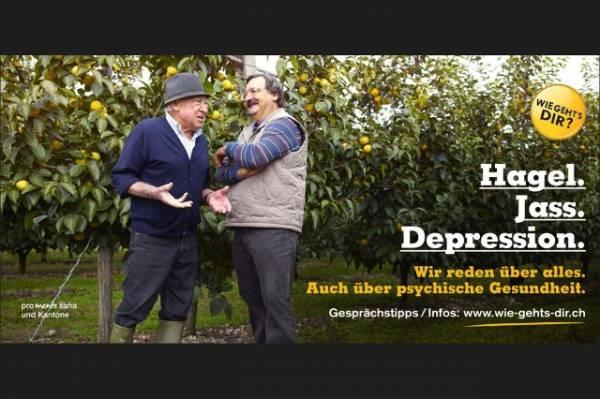 """Uno dei manifesti della campagna """"Come stai?"""". Lo slogan: «Parliamo di tutto. Anche di salute psichica»"""